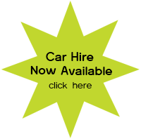 Car Hire Now Available